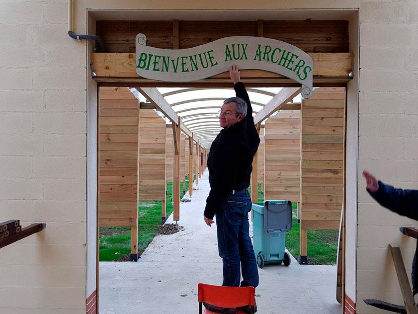 La Compagnie d'Arc de Villiers-sur-Marne déménage