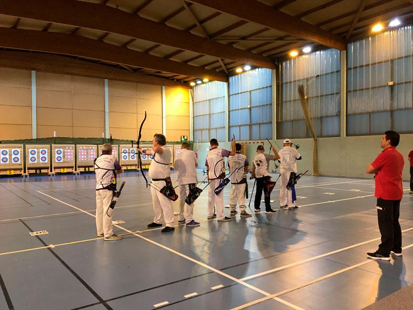 Concours salle 2019 de la Cie d'Arc de Villiers-sur-Marne