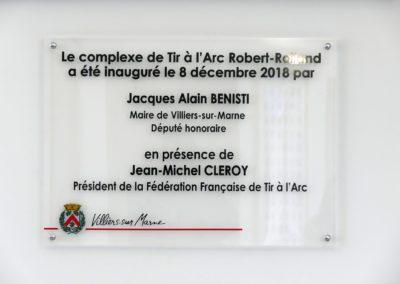 Inauguration de la nouvelle cie d'arc de Villiers sur Marne